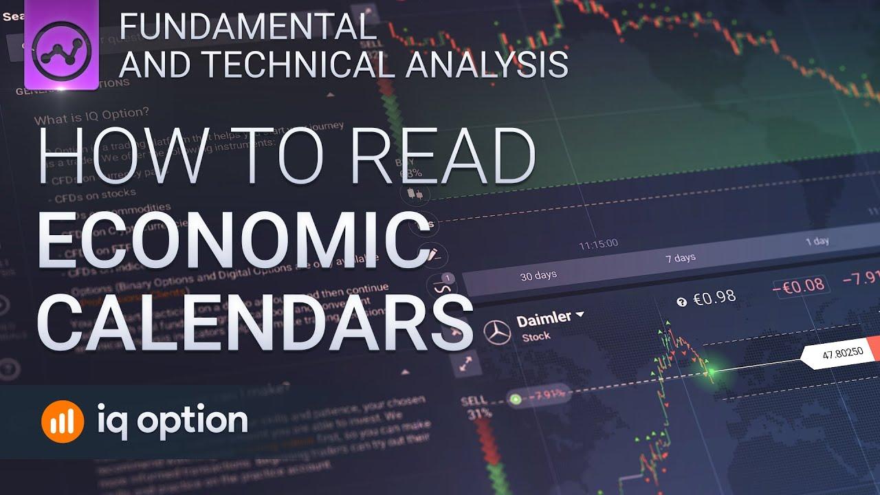forex interpretarea calendarului economic