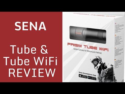 NEW Sena Prism Tube Wifi Camera And Sena App Review.