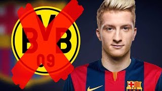 MARCO REUS TO BARCELONA?!?! ● 5 FACTS YOU DIDN