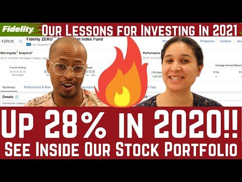 Our Stock Portfolio Was Up 28% in 2020!  Here Is Our Best Advice for Investing in 2021 (Ep. 10)