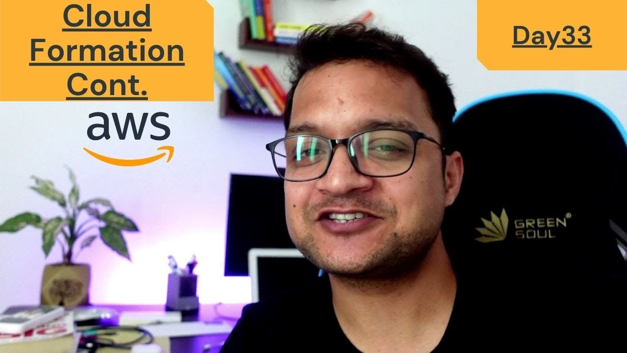 DAY 33 - 100 Days Of AWS | Cloud Formation