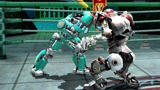 REAL STEEL WRB Bluebot VS No Joke & Camelot & Crimson Carnage & Blockbuster