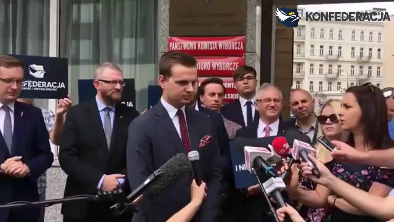 PILNE! Konfederacja ogłasza komitet na wybory do Sejmu: KW KONFEDERACJA WOLNOŚĆ i NIEPODLEGŁOŚĆ!