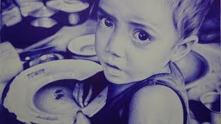 Ballpoint pen ( speed drawing ) - Daniel Nabuco