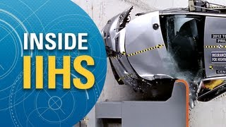Inside IIHS: Frontal offset testing