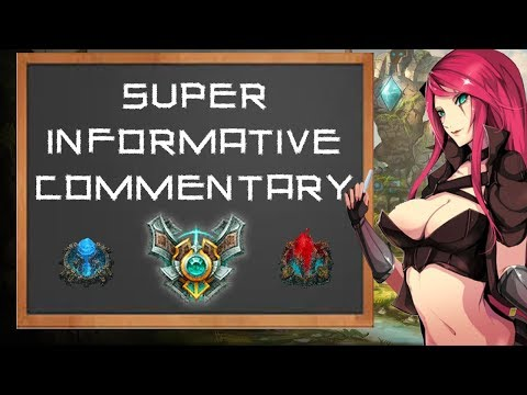 Katarina vs Zed 1 | SUPER INFORMATIVE COMMENTARY MATCHUP GUIDE | Katlife