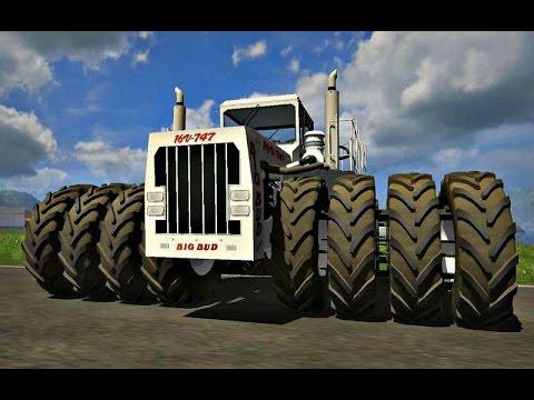 World's Largest Farm Tractor   The biggest tractor in the world Самый большой в мире трактор