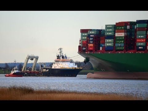 SMIT Salvage - Refloating the CSCL INDIAN OCEAN