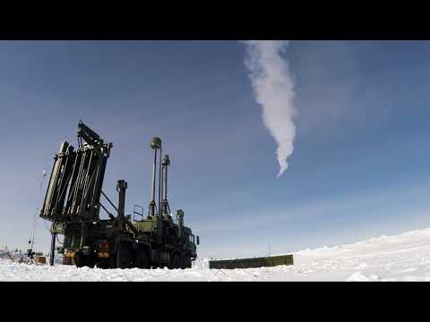 British Army Test Fires LAND CEPTOR Air Defence Missile System