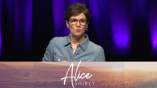 "New Every Morning"" God Ain't Scared - Alice Shirey"