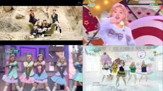 Ks9 - Red Velvet Ice Cream Cake 4 Version [mv, Mnet, Kbs, Sbs March 2015]