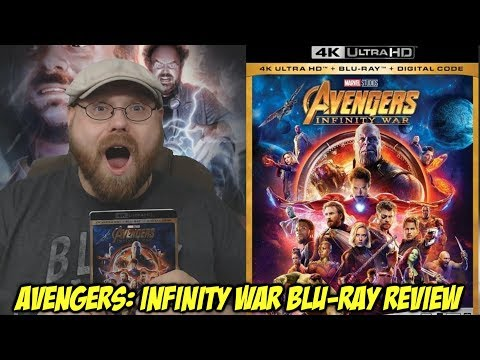 Avengers: Infinity War Blu-Ray Review + GIVEAWAY!!!