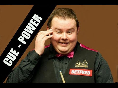 STEPHEN LEE!!! SHOWING HIS CUE POWER SNOOKER CLASSICS CB