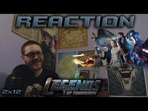 Legends of Tomorrow 2x12 REACTION!! Camelot/3000