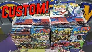Pokemon Custom Booster Box Battle!