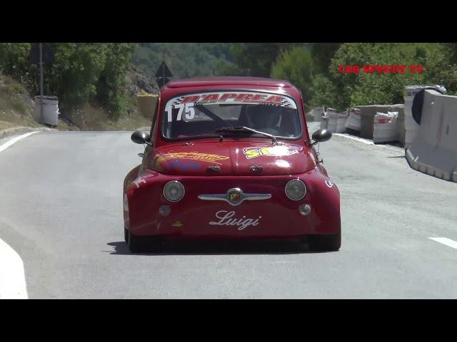 SVOLTE DI POPOLI 2019 LUIGI D' APREA FIAT 500