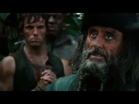 Pirates of the Caribbean 1,2,3 & 4 Trailers