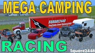 Farming Simulator 17   Mega Camping   NASCAR Racing   Dirt Track Racing   Multiplayer