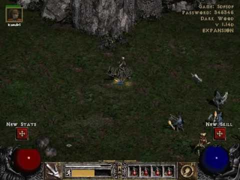 Diablo 2 map hack v 1.14d - YouTube