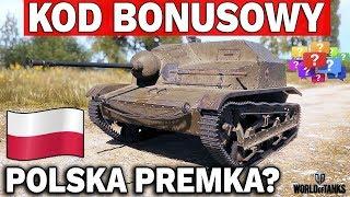 NOWA POLSKA PREMKA I KOD BONUSOWY - World of Tanks