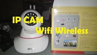 Tutorial & review  IP Cam CCTV Wifi Wireless Portable SPC Smart Babycam