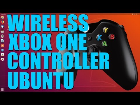 Connect Your Xbox One Controller To Ubuntu Wirelessly - YouTube