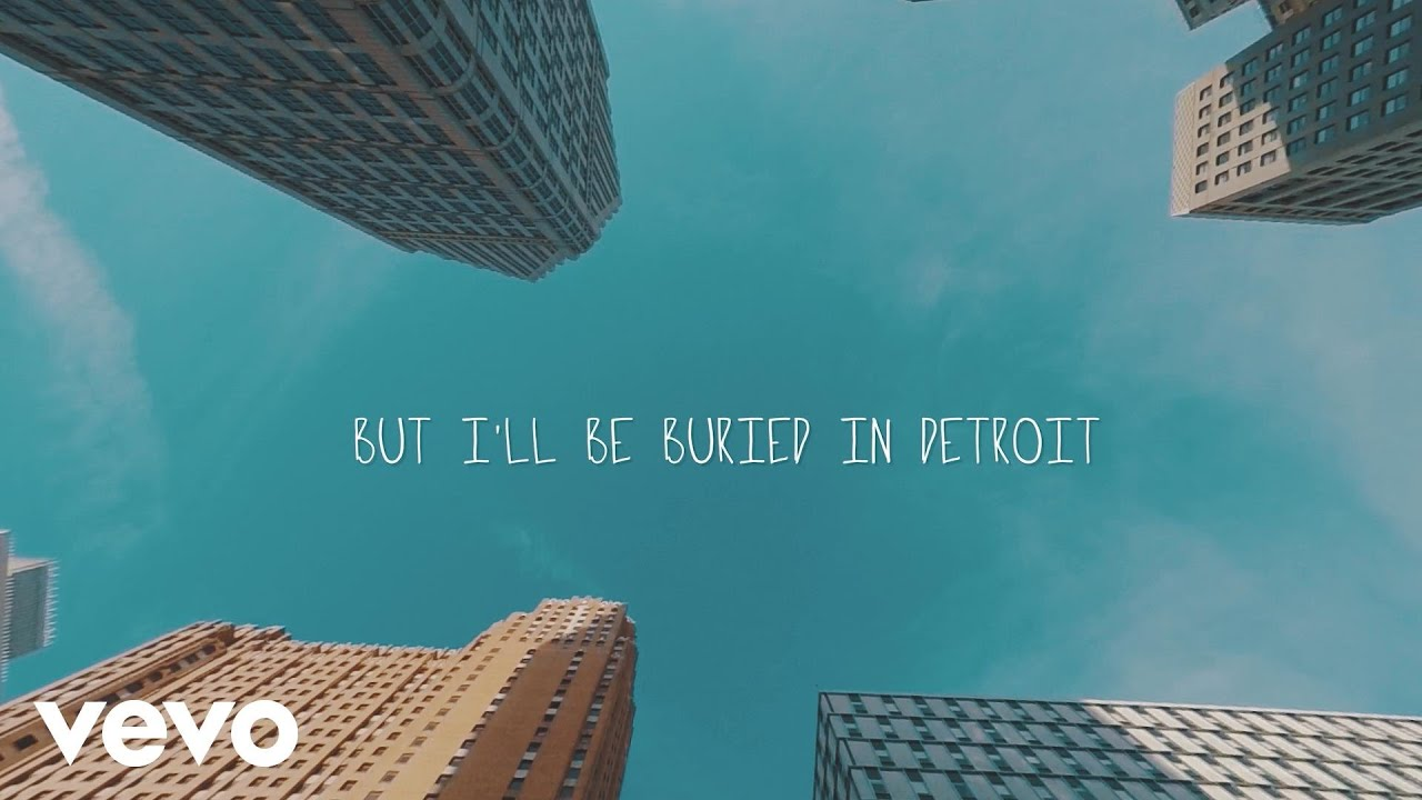 Mike Posner - Buried In Detroit (Lucas Lowe Remix) (Lyric Video) ft. Big Sean