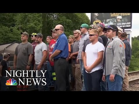 Kentucky Coal Miners Protest For Better Pay And Pensions | NBC Nightly News