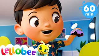 Bus, Car & Truck - Vehicle Sounds Song! More Nursery Rhymes for Kids | Little Baby Bum