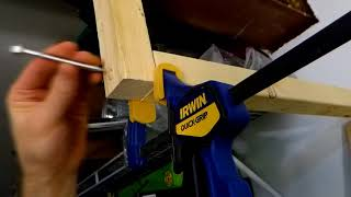 How to QUICKLY BUILD Strong Overhead GARAGE SHELVES Without Much Spending DIY Ceiling Storage Rack
