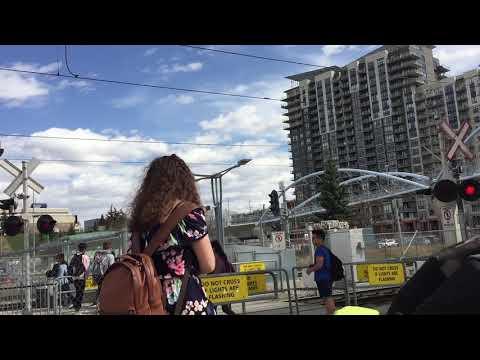 Heritage Station Pedestrian CTrain Crossing, Calgary, AB