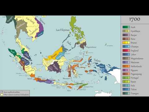 Sejarah Nusantara - Tiap 50 Tahun (100 - 2000 Masehi)