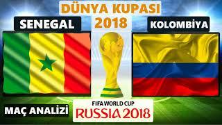Senegal - Kolombiya Maç Özeti Öncesi Analiz Dünya Kupası 2018