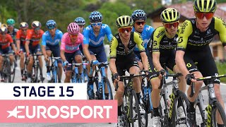 Giro d'Italia 2019 | Stage 15 Highlights | Cycling | Eurosport