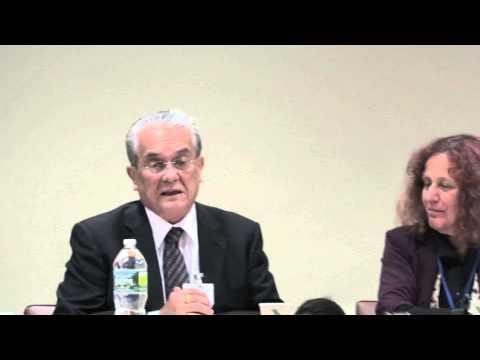 Tony de Brum Explains Marshall Islands Lawsuits