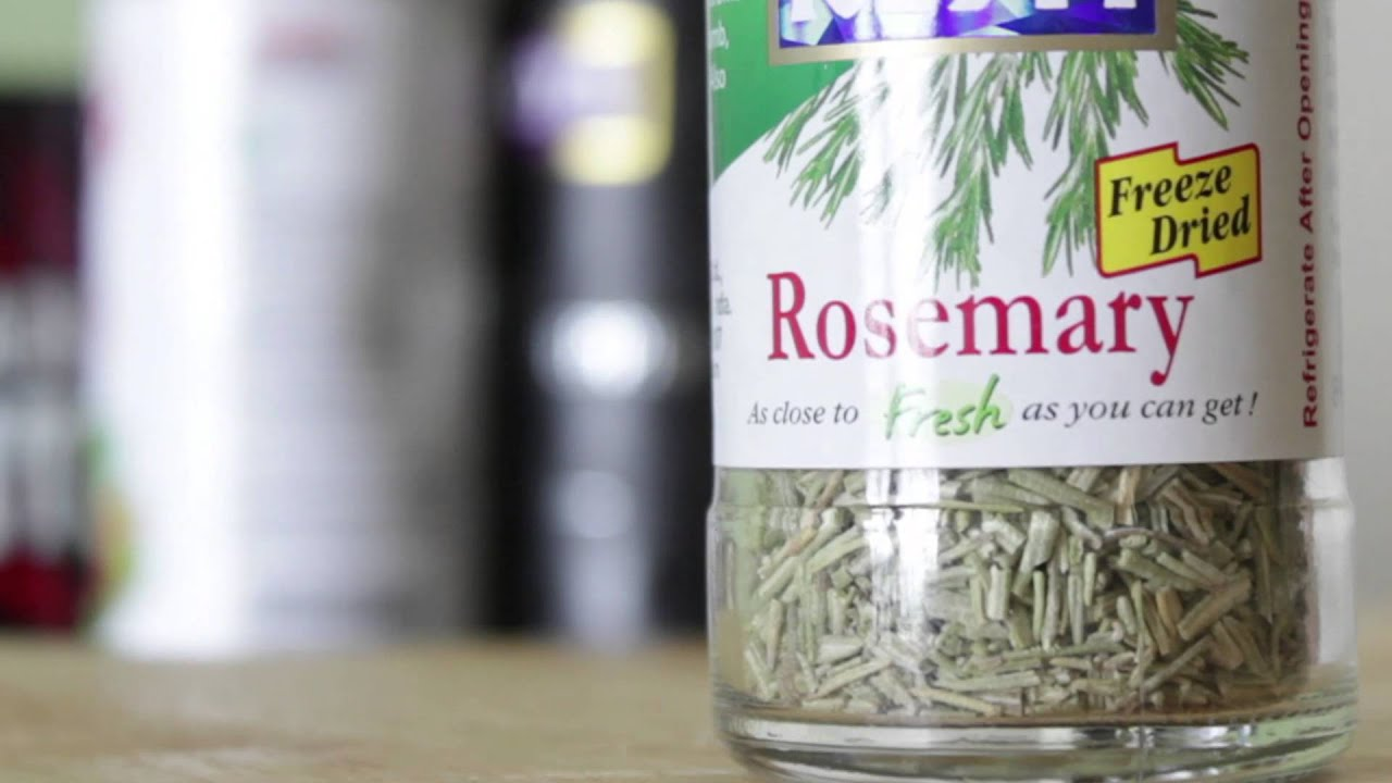 How to make Rosemary Dust/Powder | Headbanger's Kitchen Hacks