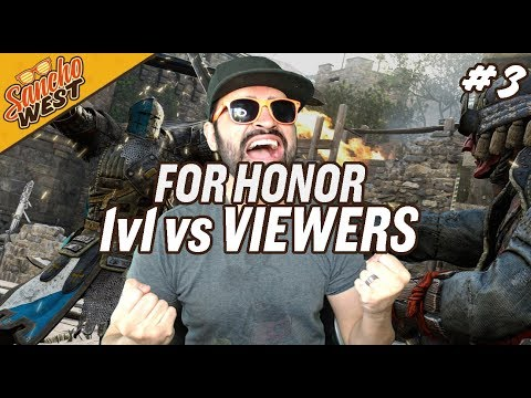 For Honor (Ps4) - 1v1 Fan Duels | The Sancho Rises