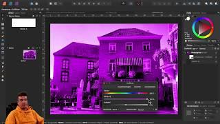 Teil 16: Affinity Praxisbeispiele /  Lens-Flare Effekte mit dem Blendmode