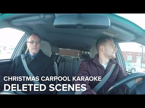 Christmas Carpool Karaoke - Deleted Scenes