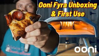 Ooni Fyra Portable Wood Fired Pizza Oven | Unboxing \u0026 Assembly | First Pizza