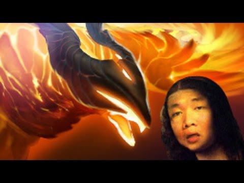 dota2 [คนเล่นหมูคนดูเซียน] special ep.63 - phoenix (request by NutAvenged)
