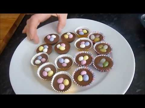 Chocolates For Easter Using The Pampered Chef Deluxe Mini Muffin Pan