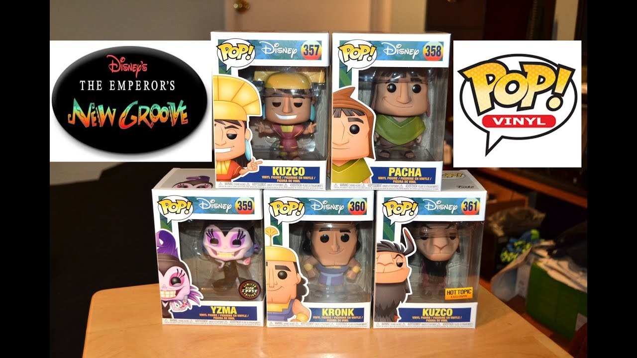 The Emperor S New Groove Funko Pop Collection Unboxing