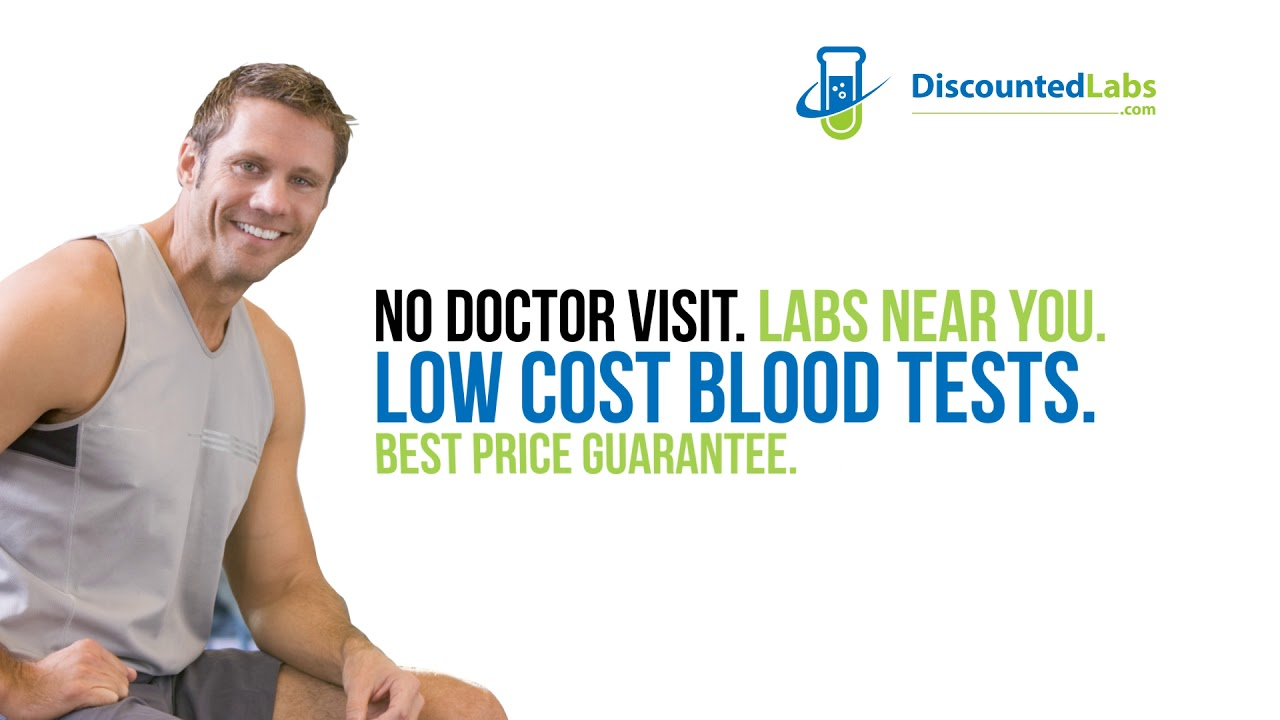 DiscountedLabs com: Lowest Blood Test Prices  No Doctor Visit  Labs Near You