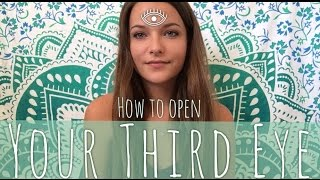 how to open your third eye spiritualthoughts