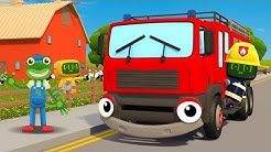 Fiona Fire Truck Song | Kids Songs | Gecko's Garage