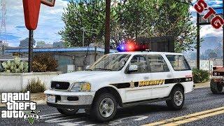 GTA 5 MODS LSPDFR 0.4.4 #60 - SHERIFF MONDAY PATROL!!! (GTA 5 REAL LIFE PC MOD)