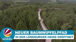 Heide-Himmel: Neuer Baumwipfelpfad in der Lüneburger Heide eröffnet