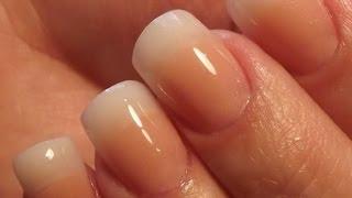 Repeat youtube video Natural Acrylic Nails * DivaDC Natural Powder *