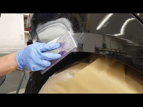 Car Repair: my procedure for a small putty job